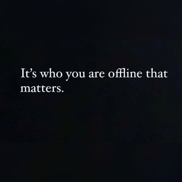 Who You Are Offline ⚡️