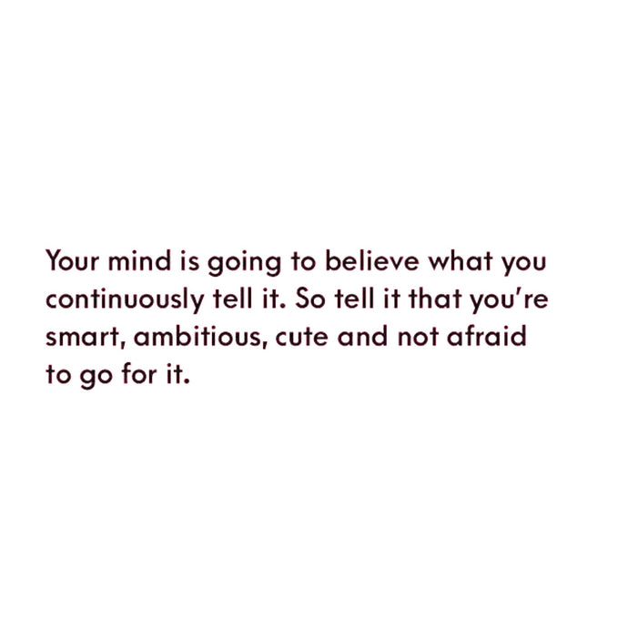 Tell Your Mind ⚡️
