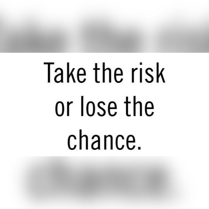 Take The Risk ⚡️