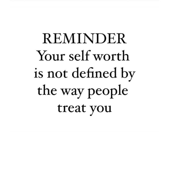 Reminder Your Self Worth ⚡️