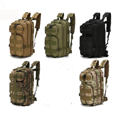 Camping Tactical Rucksack 30L - darkside gadgets