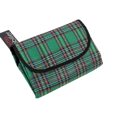 green fold away wallet camping blanket darkside gadgets