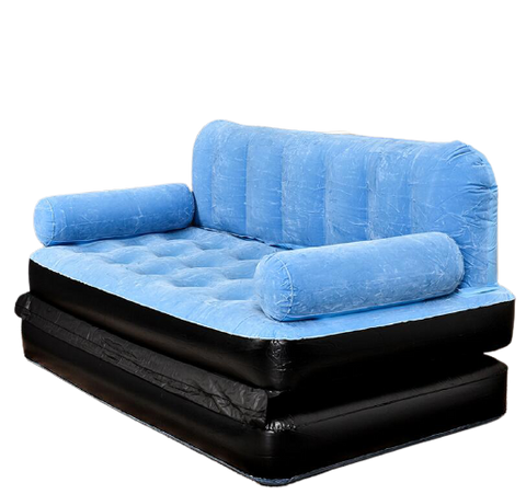 Eazy Up Inflatable Sofa Bed - darkside gadgets