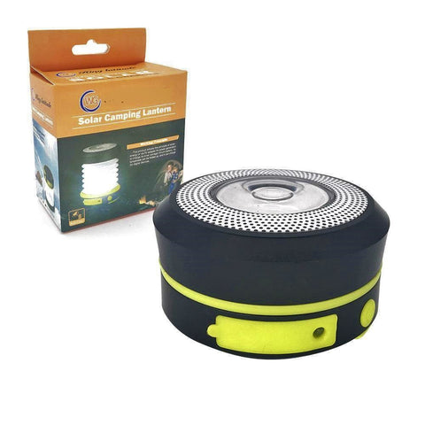 collaspible solar camping light