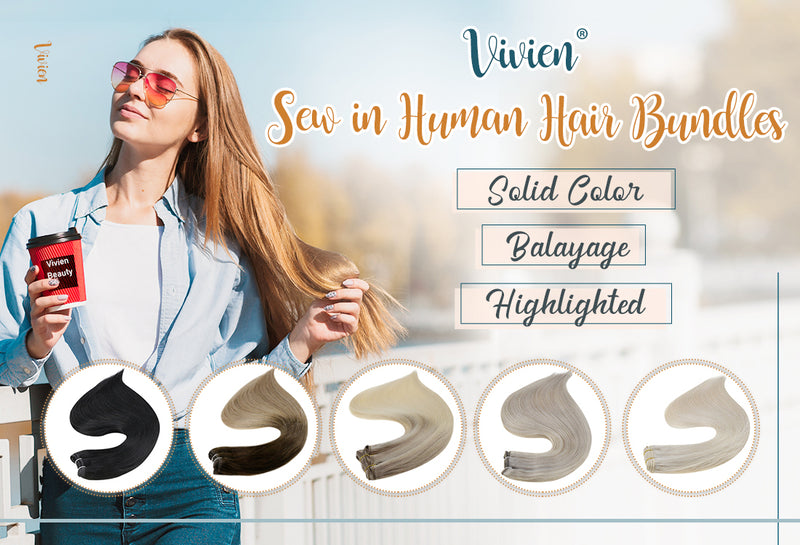 Vivien Sew in Human Hair Bundle