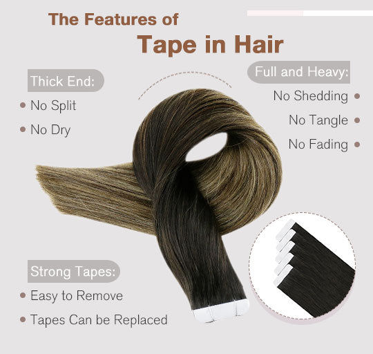 remy tape in hair human hair extensions can last for 3-6 months