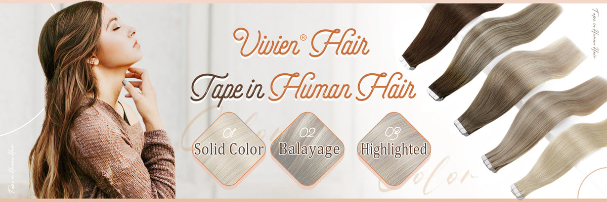 vivien remy tape in hair