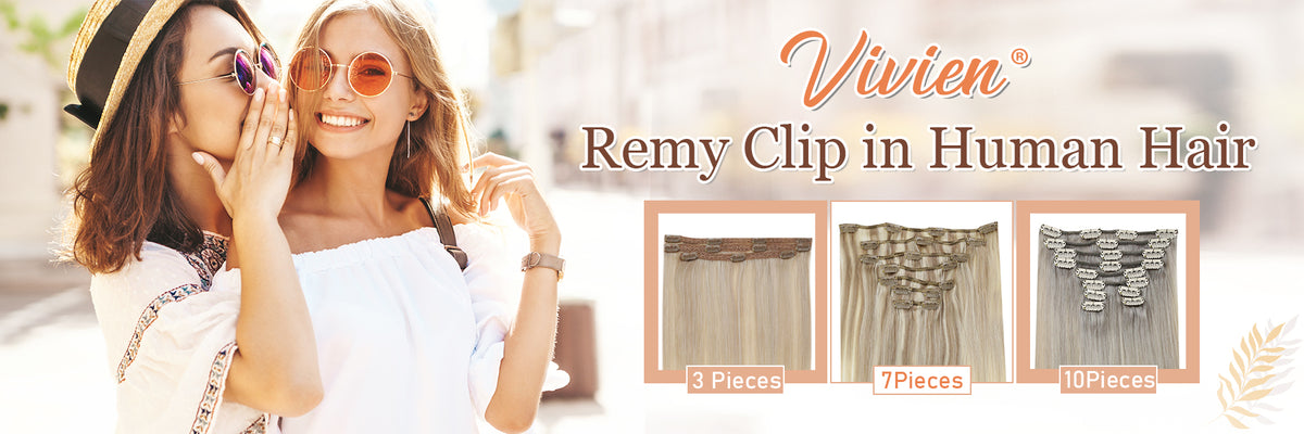 Vivien Remy Clip in Hair Extensions
