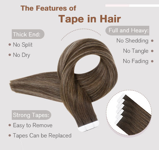 remy tape in hair extensions balayage blonde human hair extensions