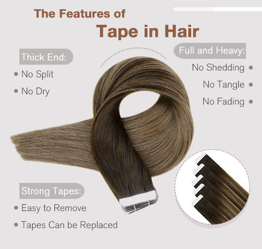 remy tape in hair extensions can last for 3-6 months