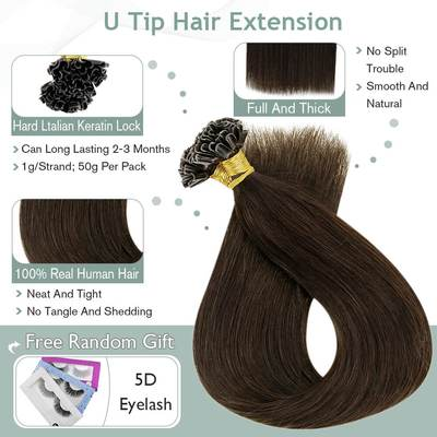 virgin pre-bonded hair extension