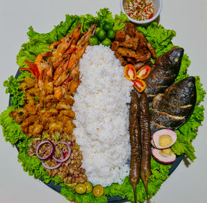 Boodle Fight Platter (Large Bilao)