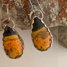 Load image into Gallery viewer, Bumble Bee Jasper Earrings