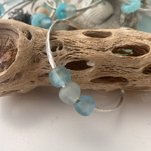 Beach Glass bangle 1