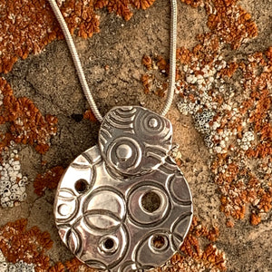 Circles Around Again Pendant