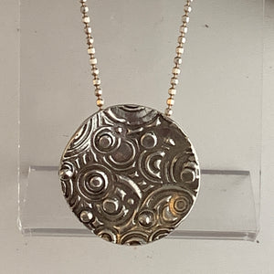 Circles and Dots Pendant