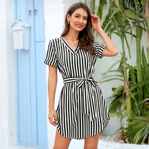 ORLEANS Striped Dress