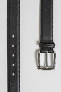 VEGAN Leather Belt in Black or Brown