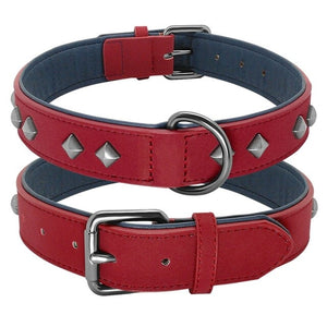 TYSON Studded Collar with Comfy Padding