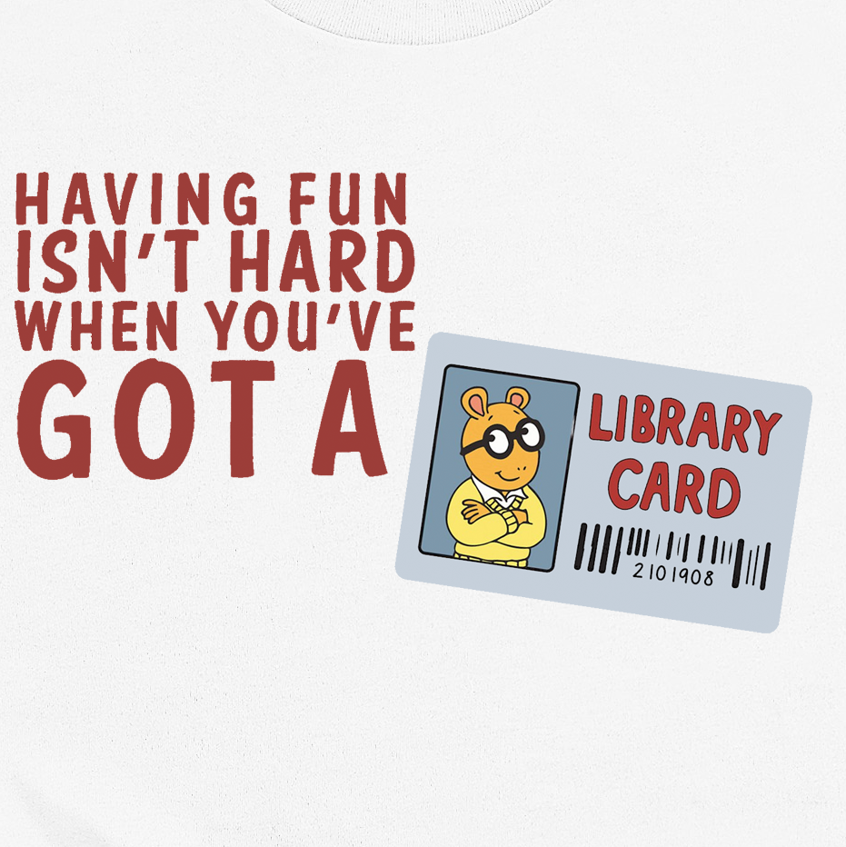 ARTHUR Library Love Tee