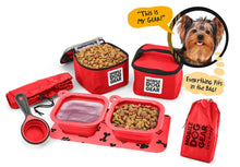 Load image into Gallery viewer, PET TRAVEL Dine Away Bag (Small Dogs)