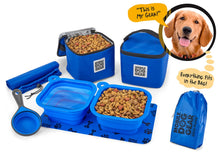 Load image into Gallery viewer, PET TRAVEL Dine Away Bag (Med/Lg Dogs)