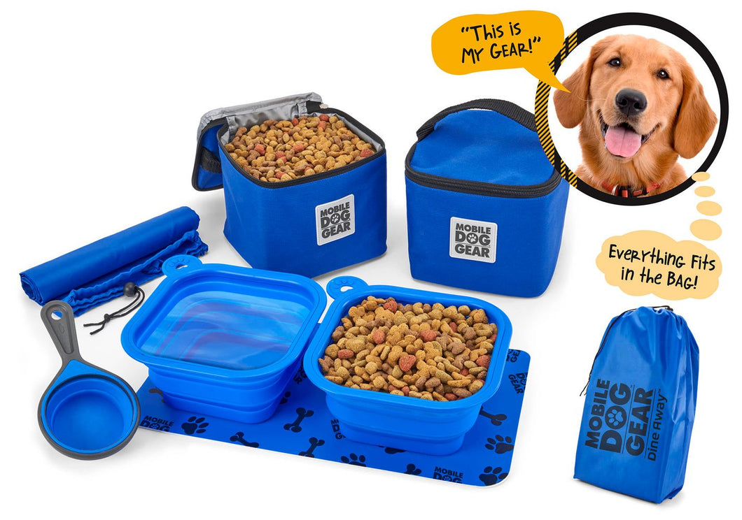 PET TRAVEL Dine Away Bag (Med/Lg Dogs)