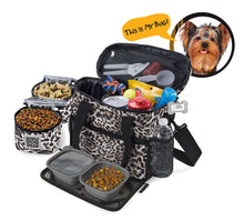 Load image into Gallery viewer, PET TRAVEL Week Away Bag (Small Dogs)
