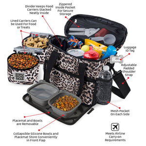 PET TRAVEL Week Away Bag (Small Dogs)
