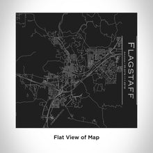 Load image into Gallery viewer, FLAGSTAFF Arizona Map Tumbler in Matte Black