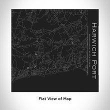 Load image into Gallery viewer, HARWICH PORT Massachusetts Map Tumbler in Matte Black