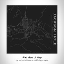 Load image into Gallery viewer, JACKSON HOLE Wyoming Map Tumbler in Matte Black
