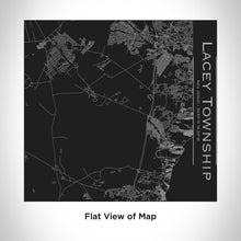 Load image into Gallery viewer, LACEY TOWNSHIP New Jersey Engraved Map Tumbler in Matte Black