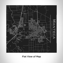 Load image into Gallery viewer, MANTECA California Map Tumbler in Matte Black