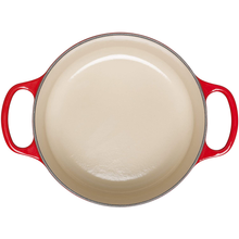 Load image into Gallery viewer, a shot showing the cream coloured interior of the casserole