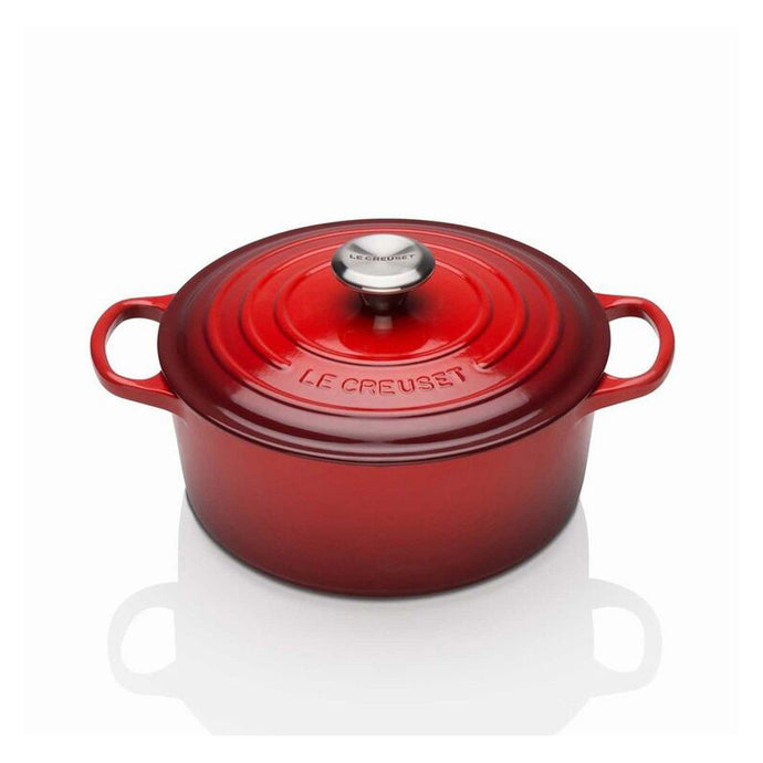 18cm red oven casserole dish