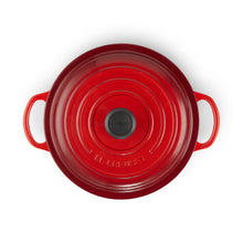 Load image into Gallery viewer, Le Creuset Signature Cast Iron Round Stew Pot 22cm - Cerise