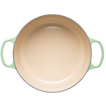 Load image into Gallery viewer, inside of 28cm casserole dish green