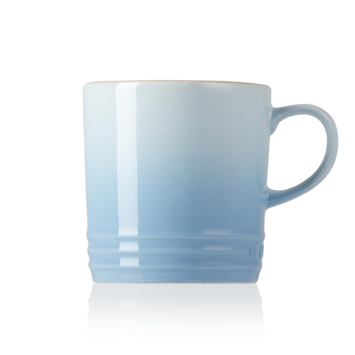 A side view of the mug