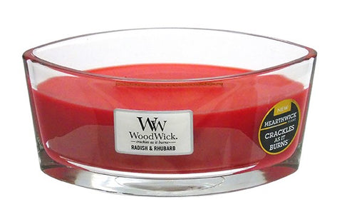 WoodWick Radish & Rhubarb Eclipse Candle