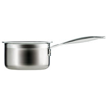 Load image into Gallery viewer, A side view of the Le Crueset milk pan
