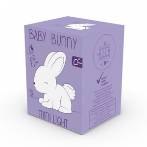 The box for the baby bunny night light