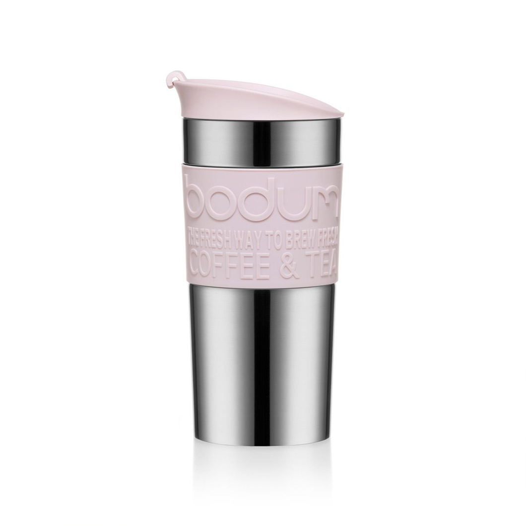 Bodum Vacuum Travel Mug - Blush Pink