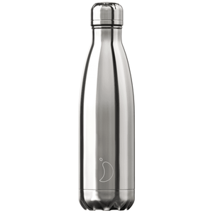 Chilly's Bottle Chrome Edition Silver 500ml