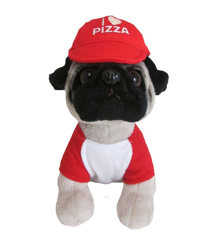 Doug the Pug Pizza Hat Tshirt