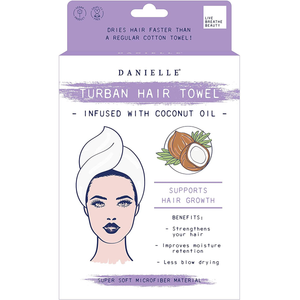 Danielle Creations Coconut Oil Infused Hair Towel