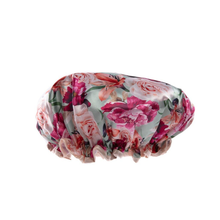 Load image into Gallery viewer, Danielle Creations Vintage Garden Floral Shower Cap