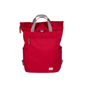 Roka Finchley A Small Sustainable Bag Volcanic Red
