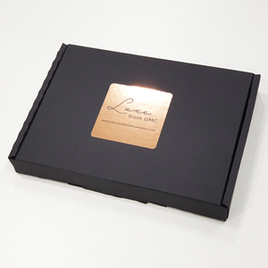 the gift box for the cream 100% silk face mask