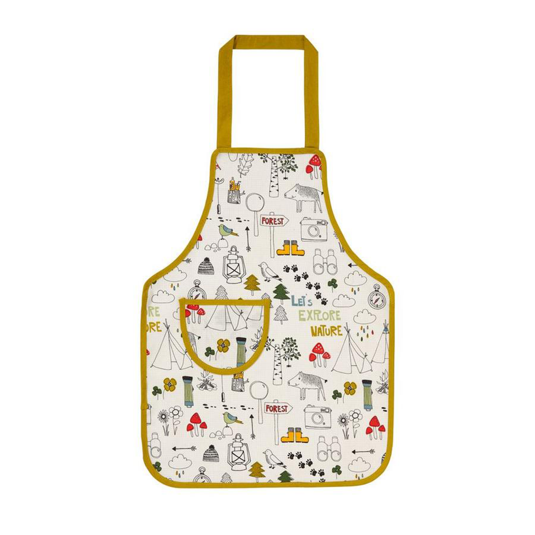 Lets Explore Nature Kids Apron